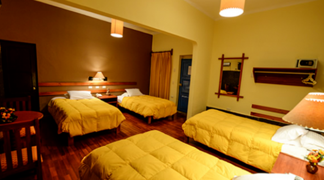 A bedroom in Cusco